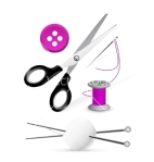 items-for-knitting-and-sewing-vector